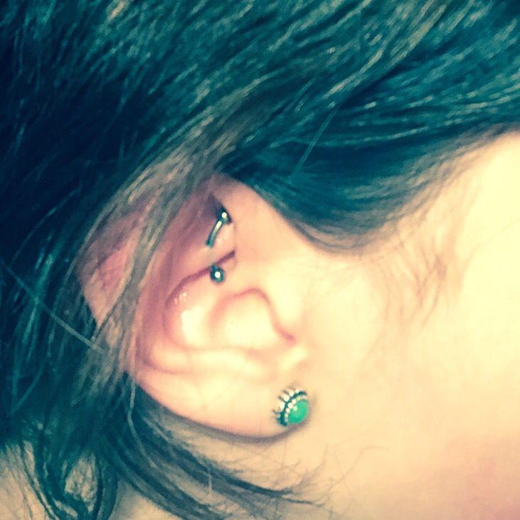 My rook piercing :)