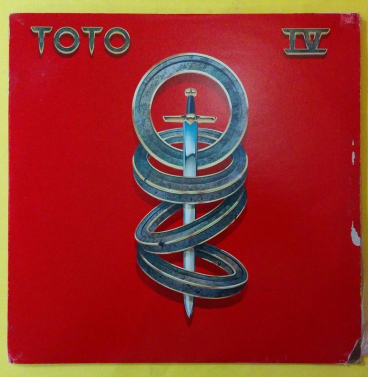 TOTO - TOTO IV - CLASSIC ROCK - VENEZUELA ISSUE