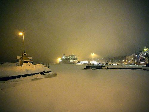 South Harbour in Helsinki, Finland