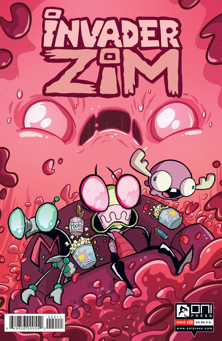 Invader ZIM #20, written by original creator Jhonen Vasquez, will be available June 14. The issue follows ZIM and GIR on their latest venture as they aim to accomplish… absolutely nothing. Vasquez …