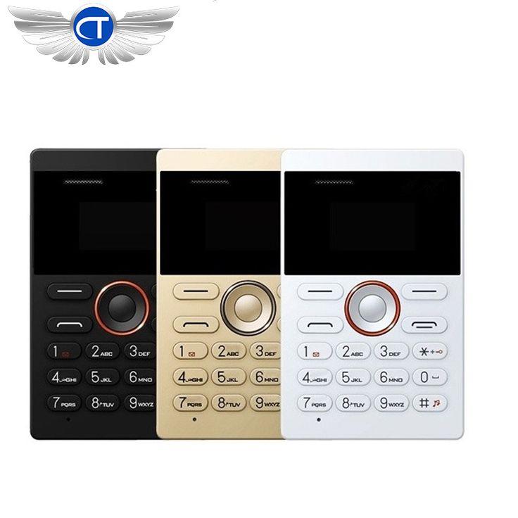 2017 New Arrival Card Phone AIEK/AEKU E1 Cheap Mini Mobile Phone English Keyboard Russian Keyboard Arabic Keyboard celular
