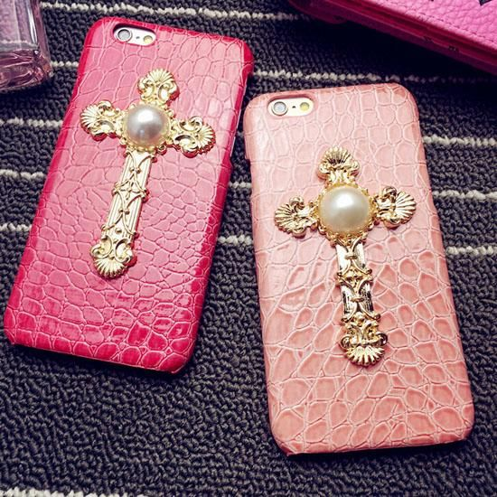 Cell Phone Case Wallet 2015 Hot Vintage Cross Luxury Hard Cell Phone Case Covers Imitation Leather Back Shell For Iphone 6 6plus 6 Best Phone Cases From Archerslove, $5.45| Dhgate.Com