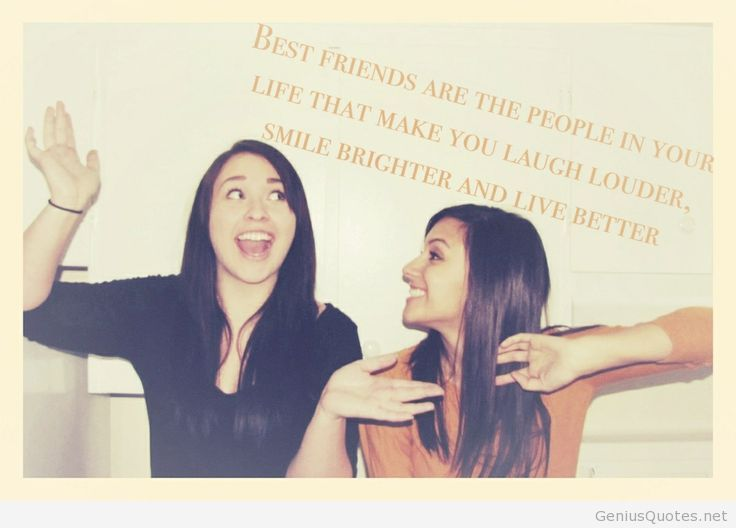 Best friend quote for girls