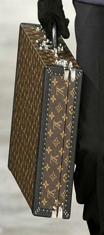 Louis Vuitton Briefcase  |  wish i had a job that included a brief case...