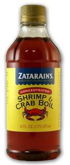 Zatarains Concentrated Shrimp & Crab Boil   New Orleans & Cajun Spices & Seasonings   NolaCajun.com