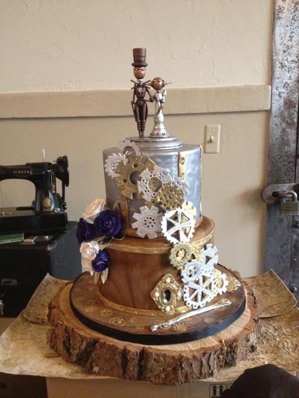 Casamento steampunk