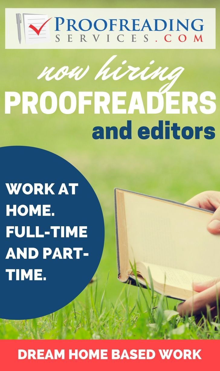 Flexible Online Proofreading and Editing Jobs with http://Proofreadingservices.com