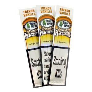 Double Platinum Blunt Wrap - French Vanilla (Vaniglia Francese)