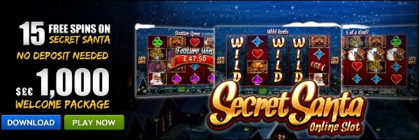 15 Free Spins-No Deposit On Secret Santa Video Slot For New Go Wild Casino Players