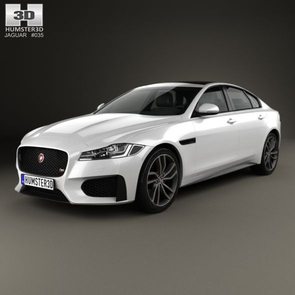 Jaguar Xf S 2016 3docean Item For Sale Jaguar Xf Jaguar Suv Jaguar Car