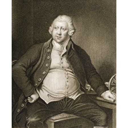Sir Richard Arkwright 1732 1792 English Textile Industrialist And Inventor Canvas Art - Ken Welsh Design Pics (13 x 15)