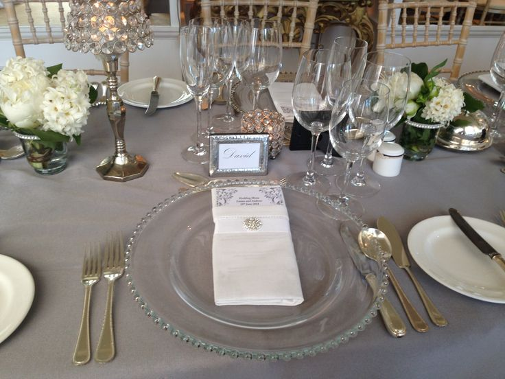 silver wedding table decorations 43 best images about wedding decor on white 7468