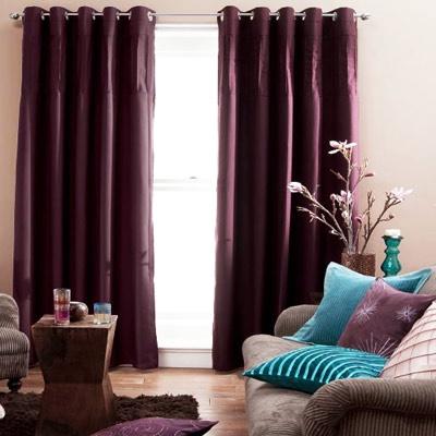 Dark plum curtains living room redo pinterest for Living room ideas using plum