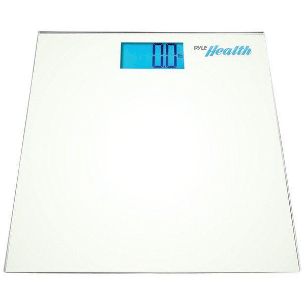 Bluetooth(R) Digital Weight Scale (White) - PYLE - PHLSCBT2WT