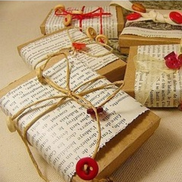 Cheap wrapping idea