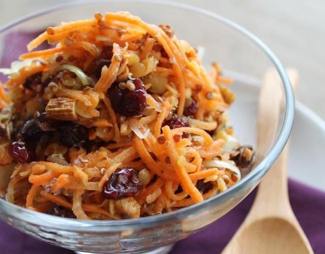 Salpicão de cenoura e quinua_F&F