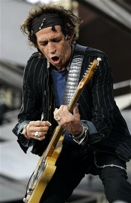 The Keith Shrine-Keith Richards/Rolling Stones News 2007