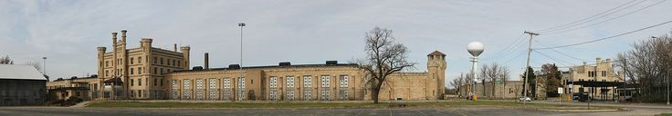 Joliet Correctional Center (colloquially known as Joliet Prison) was a prison in Joliet, Illinois, United States from 1858 to 2002. As of 2014 the Joliet Area Historical Museum is seeking to establish guided tours of the penitentiary for Route 66 travelers. *Lots of history at this link, as well as TV shows and Movies filmed there.*