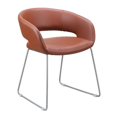 Perfect For A Casual Dining Room Alex Is One Cool Chair An Upholstered Seat