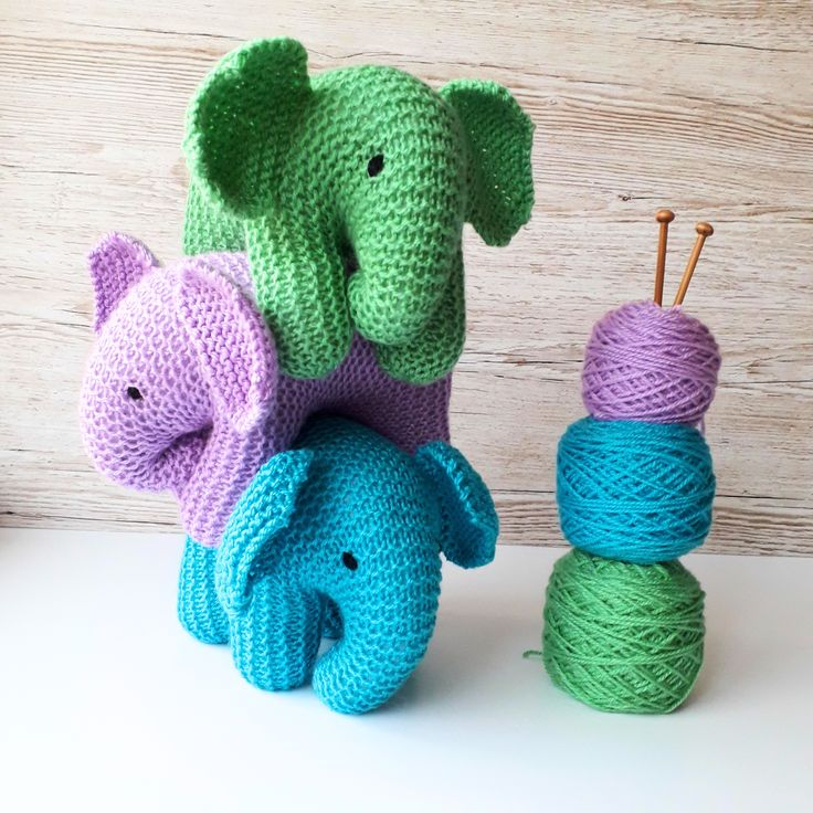 Baby Elephant Knitting Pattern | Baby elephant, Baby ...