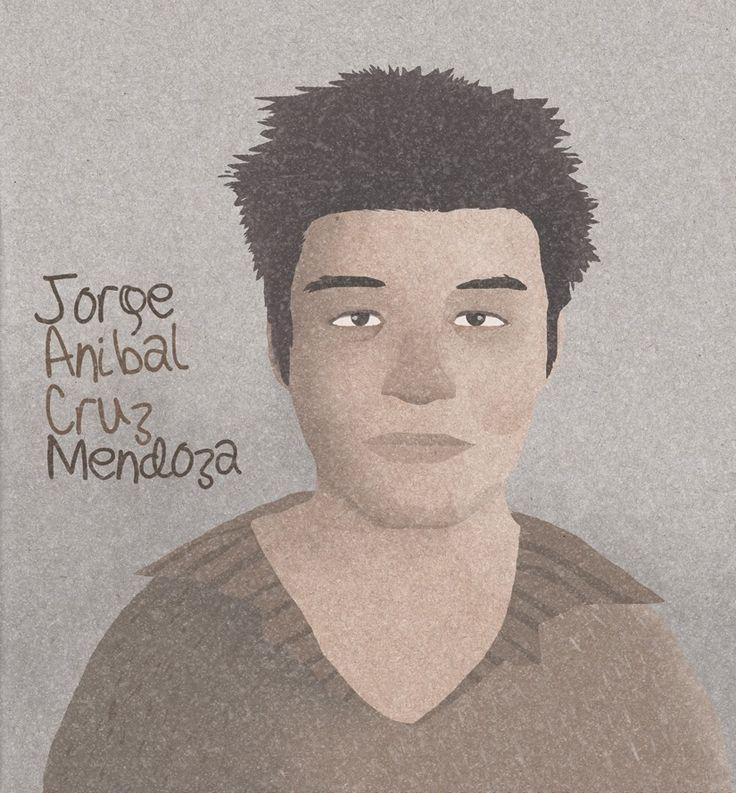 Yo, Jorge Mendoza, quiero saber dónde está Jorge Anibal Cruz Mendoza.