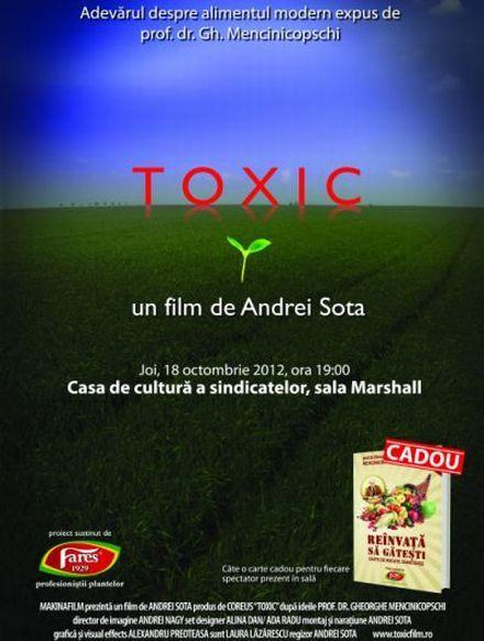 TOXIC, filmul romanesc despre alimentatia moderna, in vizionare la Festivalul Documentar Astra Film