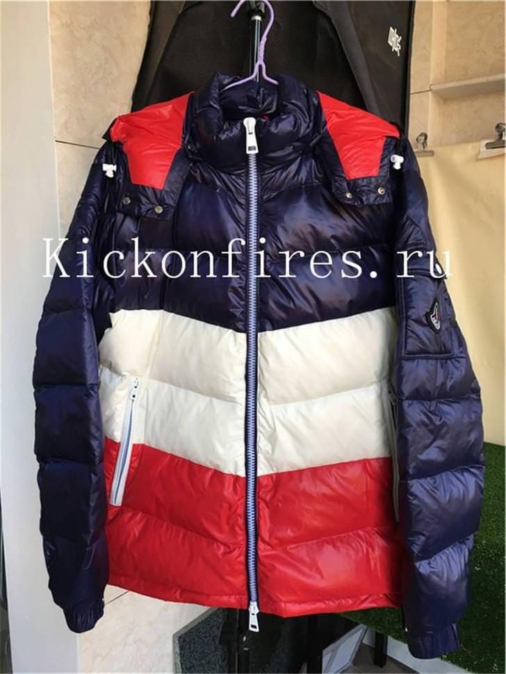 4f6bda874 Moncler Down Coat Blue White Red | Fashion | Down coat, Moncler ...