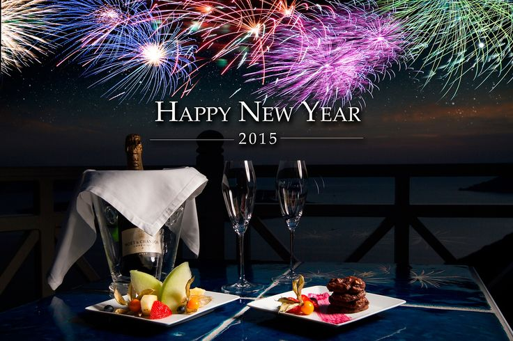 Happy New Year from Iconic Santorini and best wishes for a prosperous 2015!