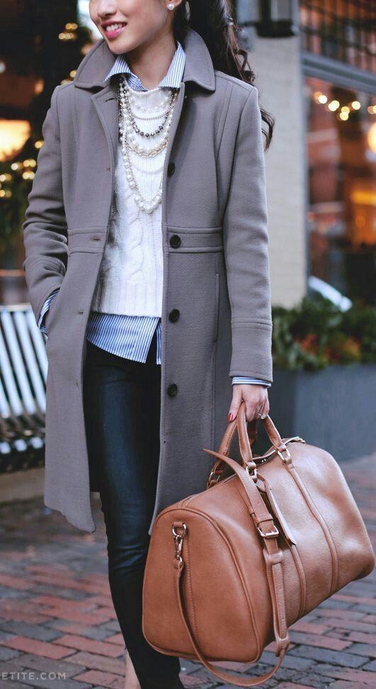 Capas en tu abrigo para invierno.