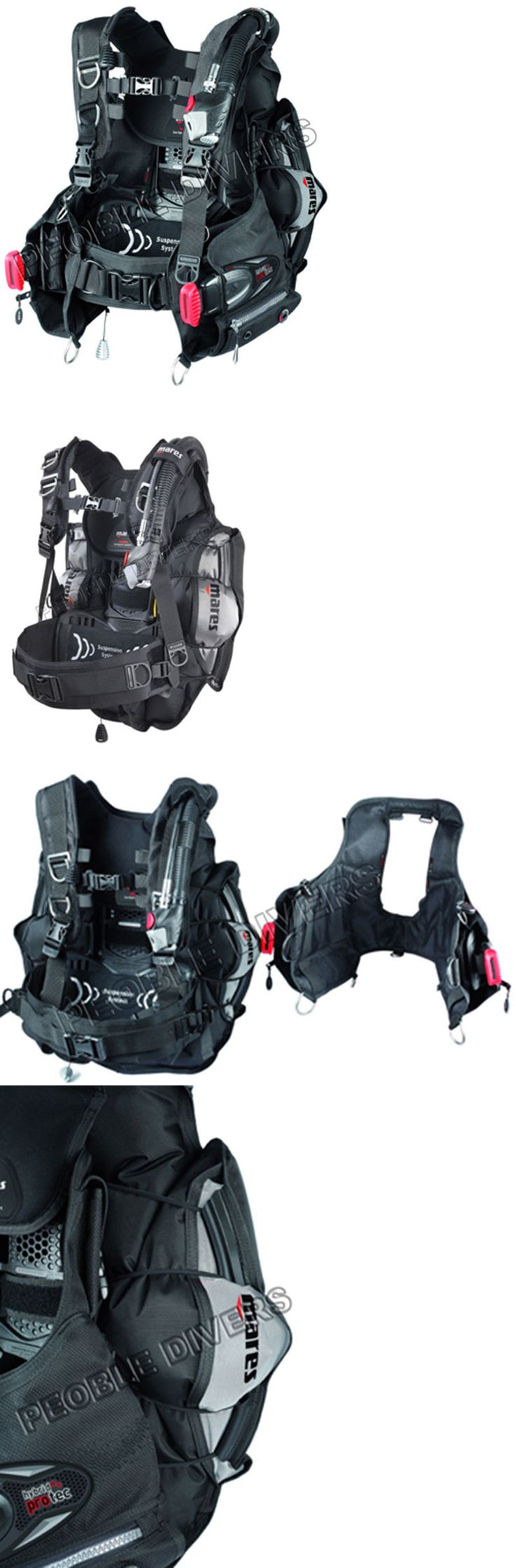 Buoyancy Compensators 16053: Mares Hybrid Pro Tec Bcd With Mrs+Pockets New W/Warranty Size Xl Priced For Sale BUY IT NOW ONLY: $425.0