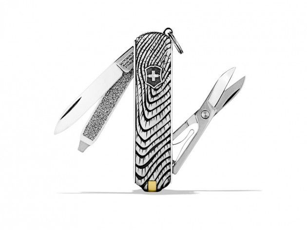 Our Sterling Silver David Yurman x VIctorinox Swiss Army knife via Selectism.com