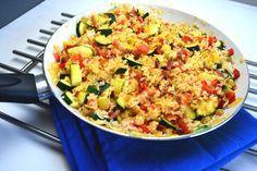 Gebakken rijst met groentes