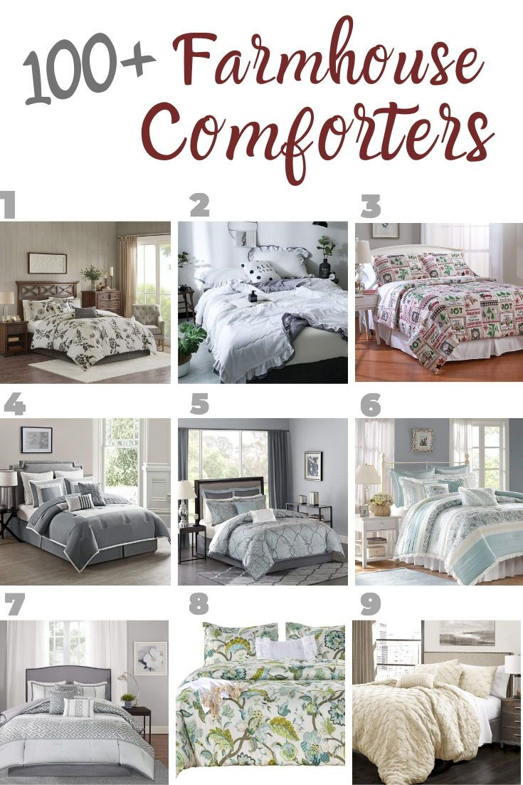 Farmhouse Comforters Rustic Comforters Farmhouse Goals In 2020 Farmhouse Bedding Sets Farmhouse Bedding Rustic Comforter