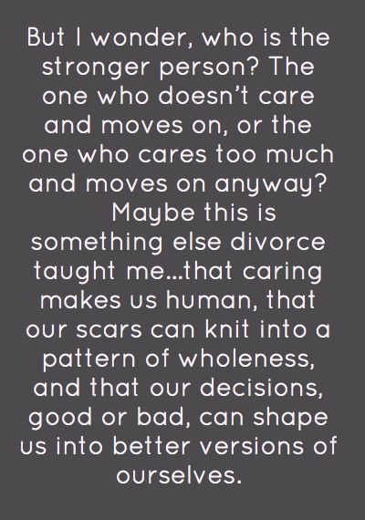 quotes about divorce and moving on Quotes