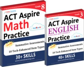 Trusted English Language Arts and Math ACT Aspire Practice Program for Students