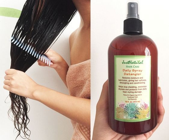 This detangler is a miracle worker for your hair.