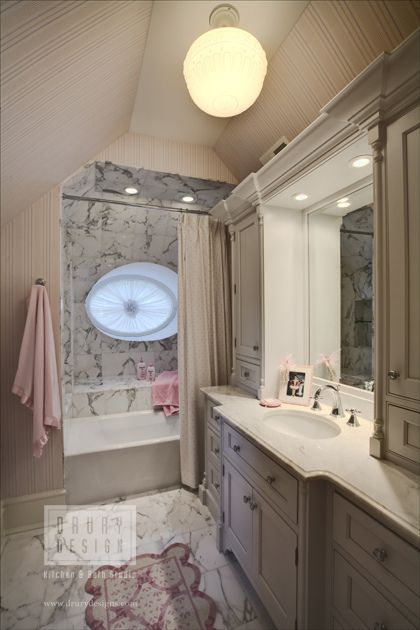 Gallery For Photographers Traditional Bath by Drury Design Kitchen and Bath Studio via drurydesigns