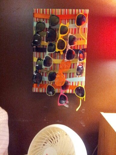 Cute holder for all my sunglasses