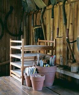 In Pursuit of the Perfect Potting Shed: The ideal space is a personal, practical place. Read the full article at www.finegardening...: Garden Sheds, Garden Ideas, Secret Garden, Potting Sheds, Perfect Potting, Gardening Sheds, Garden Cottage