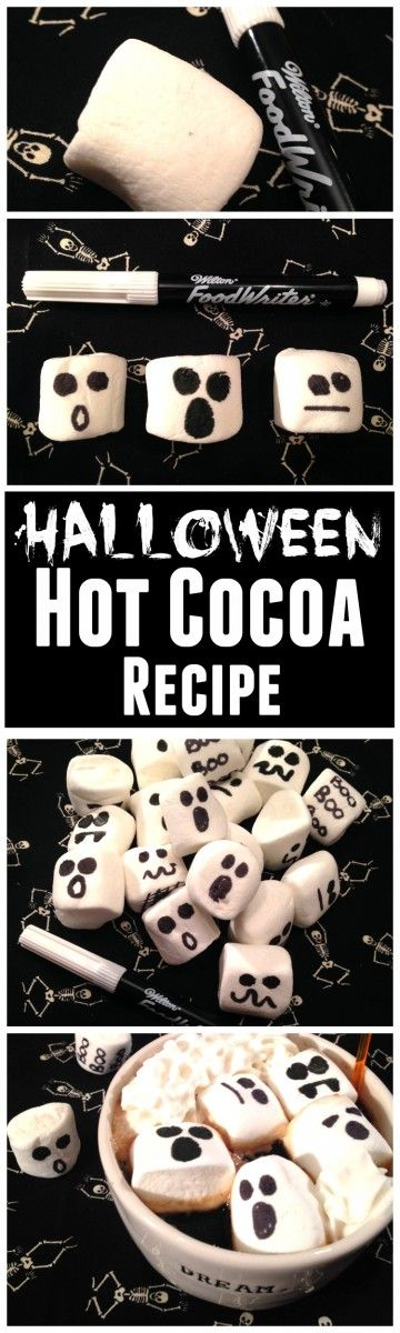 Easy Halloween hot cocoa recipe that will delight your guests! | CatchMy Party