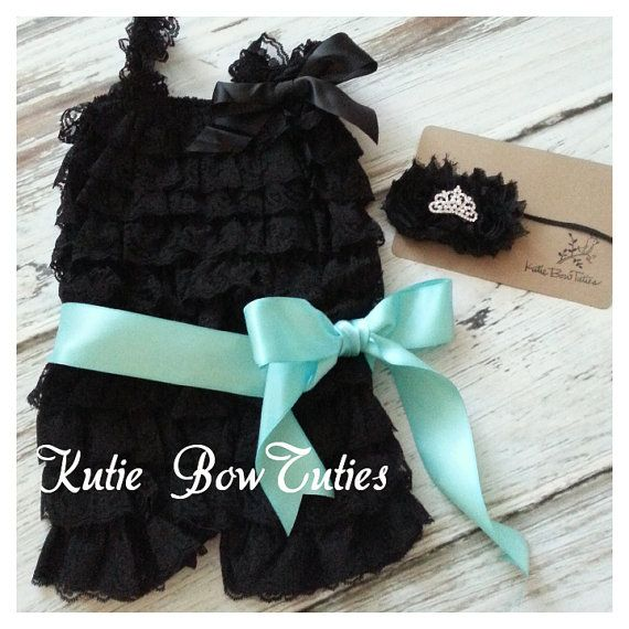 Audrey Hepburn inspired Lace Romper and by Kutiebowtuties on Etsy, $19.99