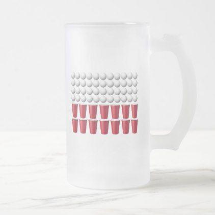 #Beer Bong Polska Frosted Mug - #drinkware #cool #special