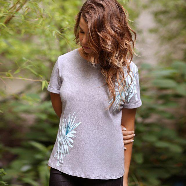 Tee-shirt imprimé et manches à revers ENJOYPHOENIX POUR LA REDOUTE