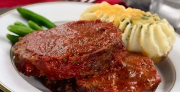 Facebook Pinterest PrintIngredients Meat loaf 1 large egg, beaten 1 tablespoon skim milk 1 teaspoon Dijon mustard 1 tablespoon Worcestershire sauce 1 slice whole-grain bread 1 tablespoon tomato paste 1/2 medium onion, diced (about 1/2 cup) 1/2 teaspoon dried thyme 1/4 teaspoon black pepper 1 pound extra lean (91/9) ground beef Sauce 1/4 cup no salt added ketchup 1 tablespoon brown sugar 1 teaspoon no salt added tomato paste Directions Combine the egg, milk, musta...