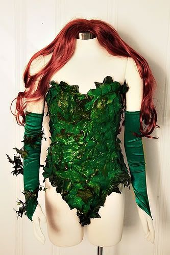 Love this poison ivy costume! This is the closest thing I've found of what I want to do
