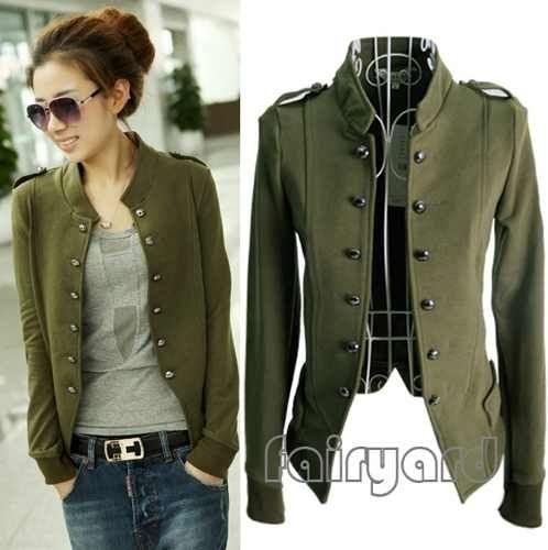 casaco militar feminino 6                                                                                                                                                                                 Mais