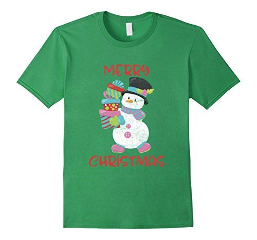 Merry Christmas Cute Snowman Cartoon Vintage Print T-shirt men women kids https://www.amazon.com/dp/B076W1KX62/ref=cm_sw_r_pi_dp_x_m6mdAbDZR45E2