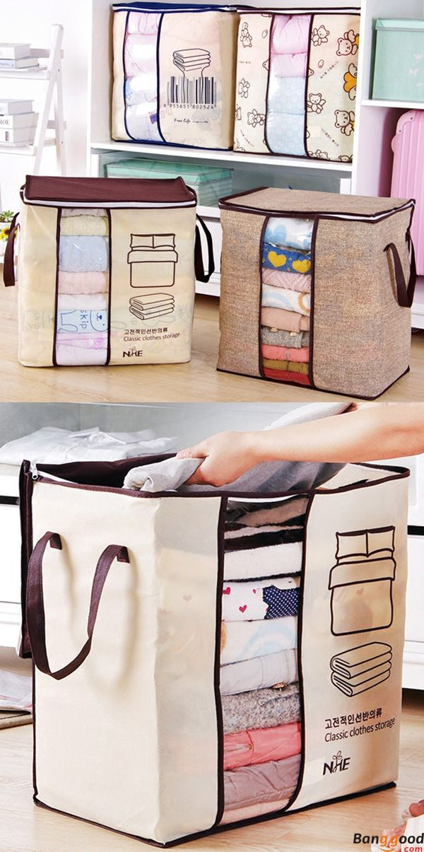 $5.99+Free Shipping.  Clothes Storage Bags. 4 patterns available. Perfect for storing bedding, clothes and more. Buy at banggood now:))