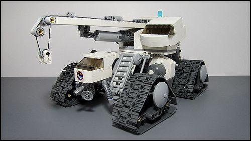 Lego Space Crane
