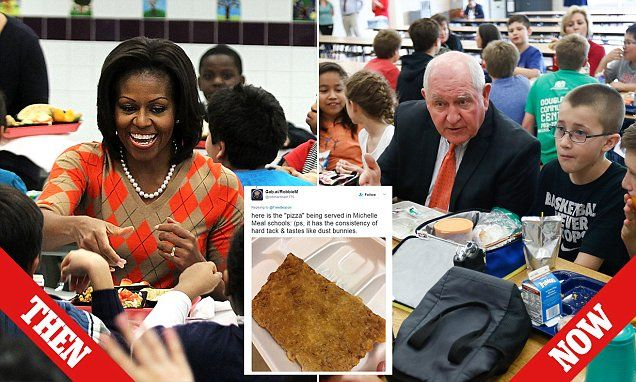 Michelle Obama's school meals and Let Girls Learn initiatives dumped